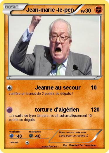 Pokemon Jean-marie -le-pen