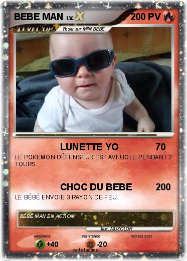 Pokemon BEBE MAN