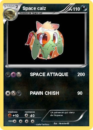 Pokemon Space calz