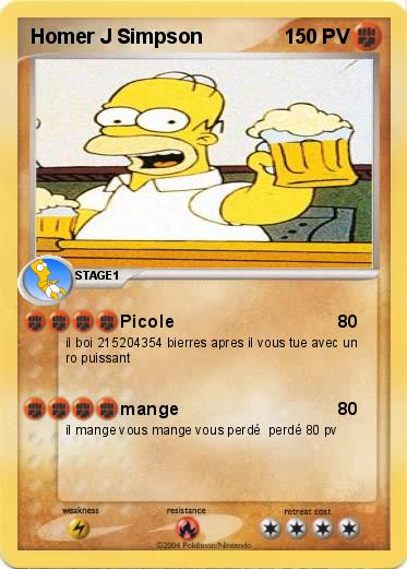 Pokemon Homer J Simpson