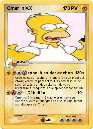 Pokemon Omer  niv.X                        1