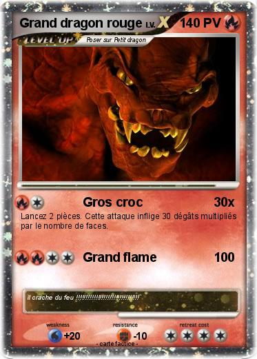 Pokemon Grand dragon rouge