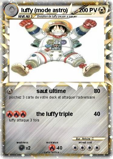 Pokemon luffy (mode astro)