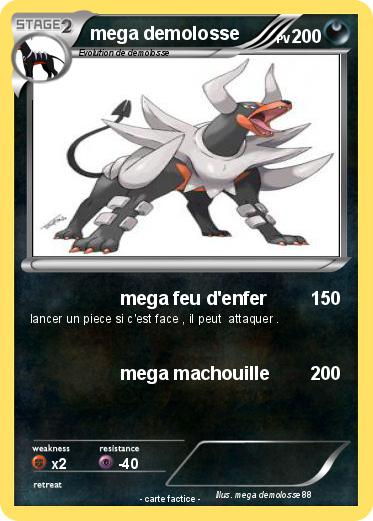 Pokemon mega demolosse
