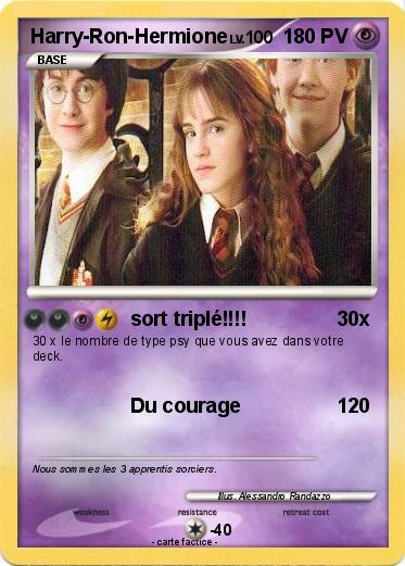 Pokemon Harry-Ron-Hermione