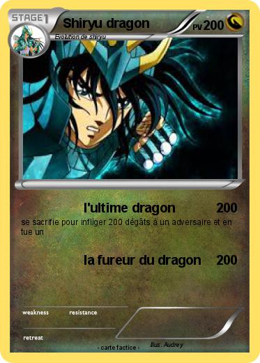 Pokemon Shiryu dragon