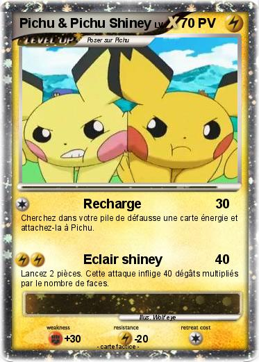 Pokemon Pichu & Pichu Shiney