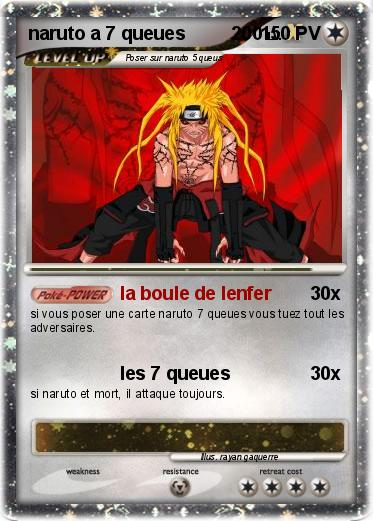Pokemon naruto a 7 queues         200