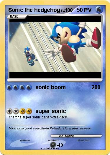Pokemon Sonic the hedgehog
