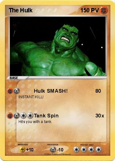 Pokemon The Hulk