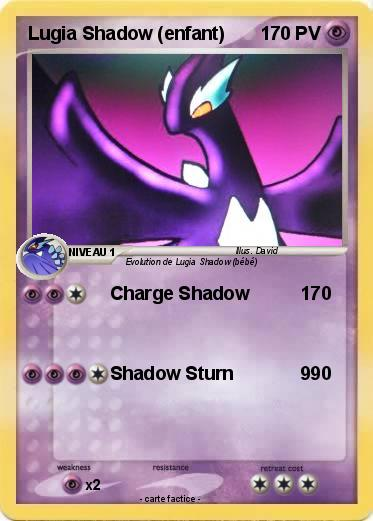 Pokemon Lugia Shadow (enfant)