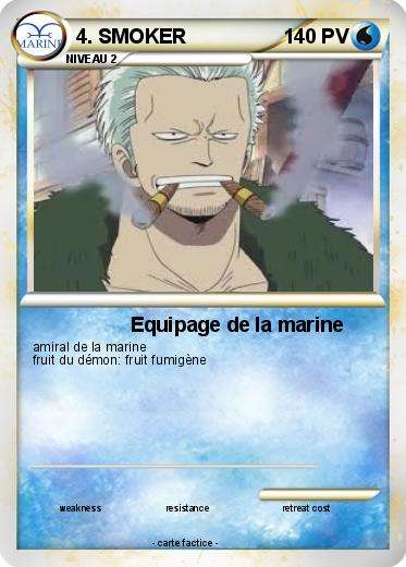 Pokemon 4. SMOKER