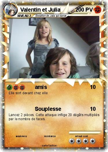 Pokemon Valentin et Julia