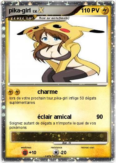 Pokemon pika-girl