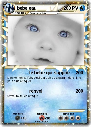 Pokemon bebe eau