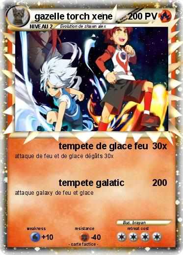Pokemon gazelle torch xene