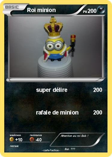 Pokemon Roi minion
