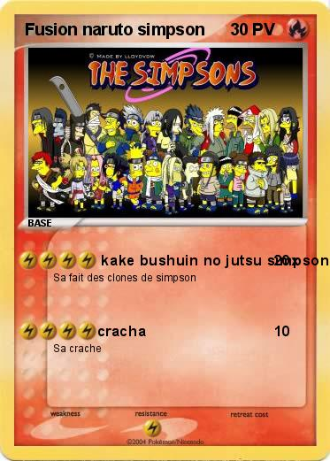 Pokemon Fusion naruto simpson