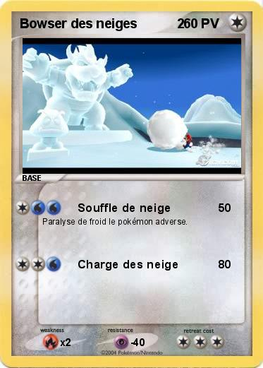 Pokemon Bowser des neiges           2