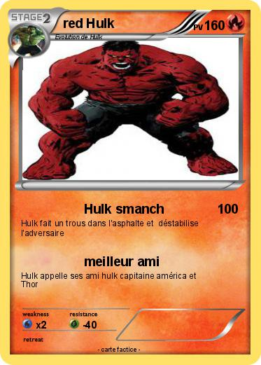 Pokemon red Hulk