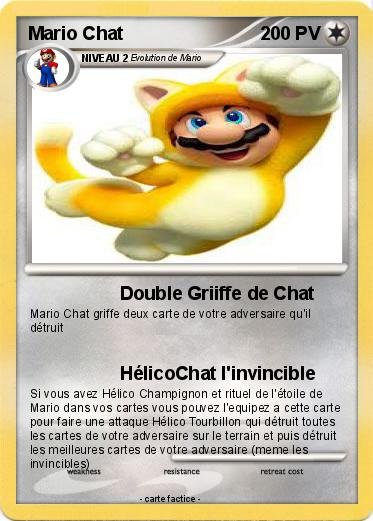Pokemon Mario Chat