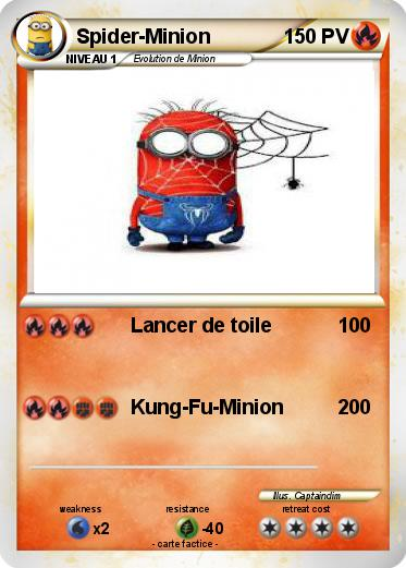 Pokemon Spider-Minion