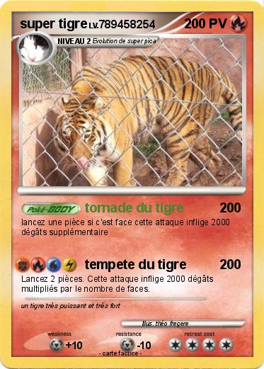 Pokemon super tigre