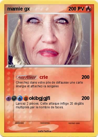 Pokemon mamie gx