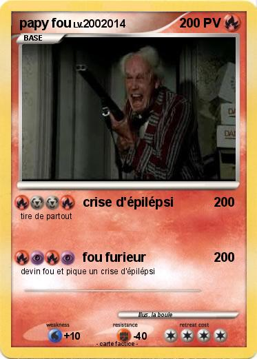Pokemon papy fou