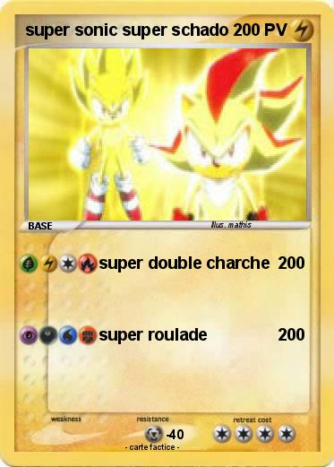 Pokemon super sonic super schado
