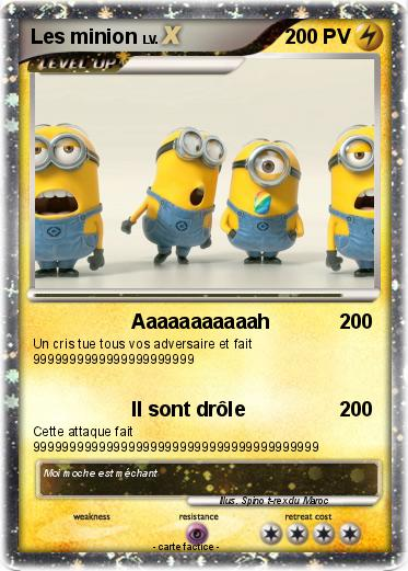 Pokemon Les minion