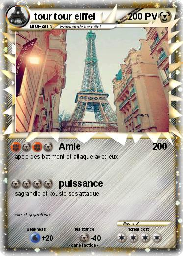 Pokemon tour tour eiffel