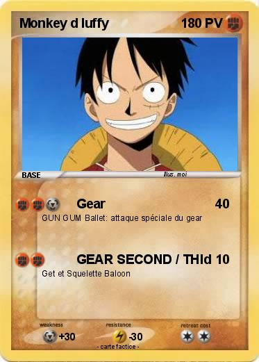 Pokemon Monkey d luffy