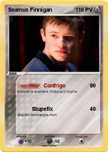 Pokemon Seamus Finnigan