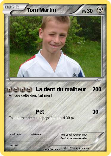 Pokemon Tom Martin
