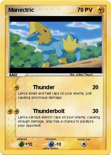Pokemon Manectric