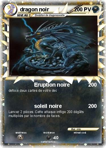 Pokemon dragon noir
