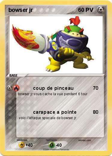 Pokemon bowser jr
