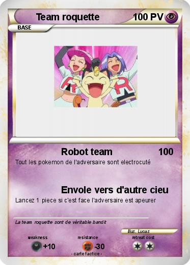 Pokemon Team roquette