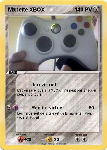 Pokemon Manette XBOX