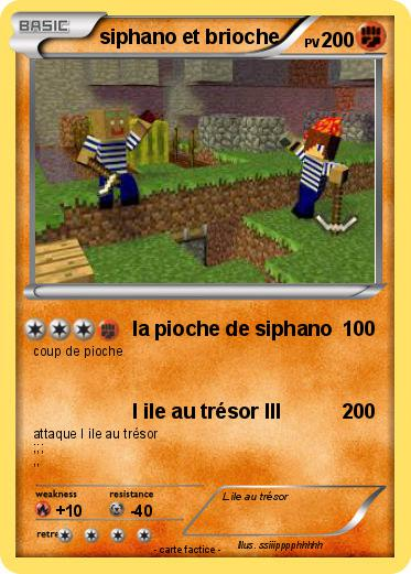 Pokemon siphano et brioche