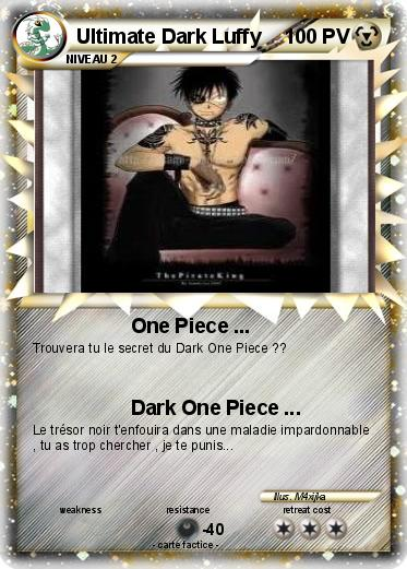 Pokemon Ultimate Dark Luffy