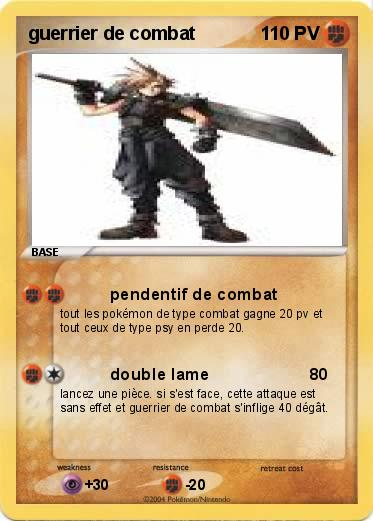 Pokemon guerrier de combat