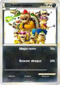 Famille bowser
