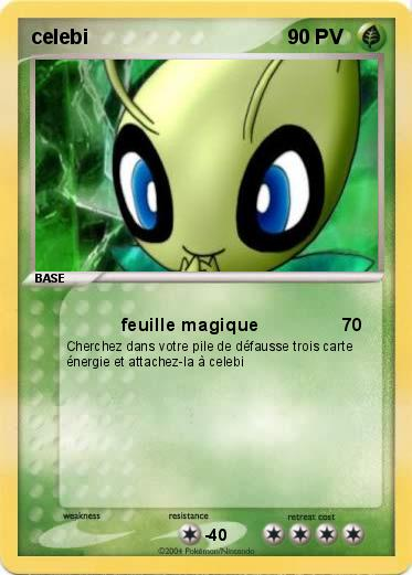 Pokemon celebi