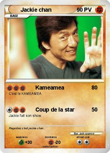 Pokemon Jackie chan