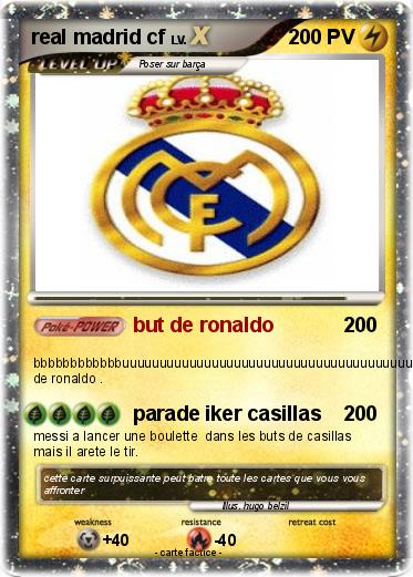 Pokemon real madrid cf