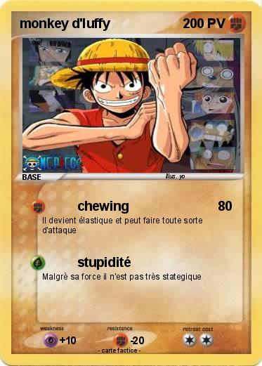 Pokemon monkey d'luffy
