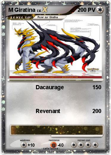Pokemon M Giratina