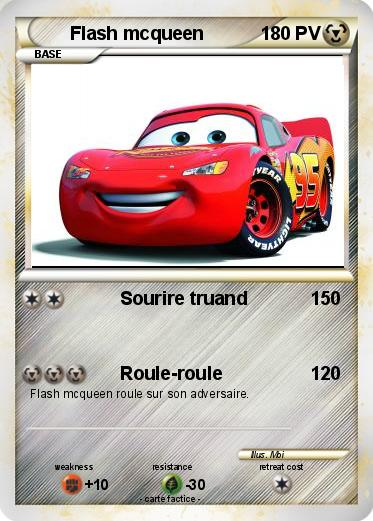 Pokemon Flash mcqueen